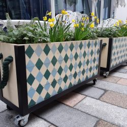 Planters for Cafe